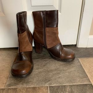 Retro Mudd leather boots